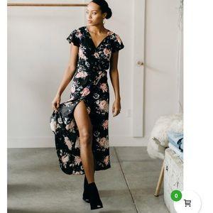 NWTA Auguste the Label wrap dress